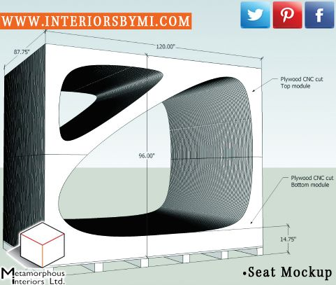 PIN this if you like our seat design mock up!  ---> www.InteriorsBYMI.com #Seat #SeatRendering #Design #Vision