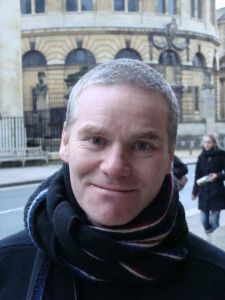 """Chris Baldwin, brytyjski reżyser teatralny a jednocześnie pedagog, pisarz, twórca  """"teatro de creaciòn"""" i specjalista od dużych wydarzeń, pełni funkcję kuratora do spraw #performance przy ESK 2016 #Wroclaw #teatr"""