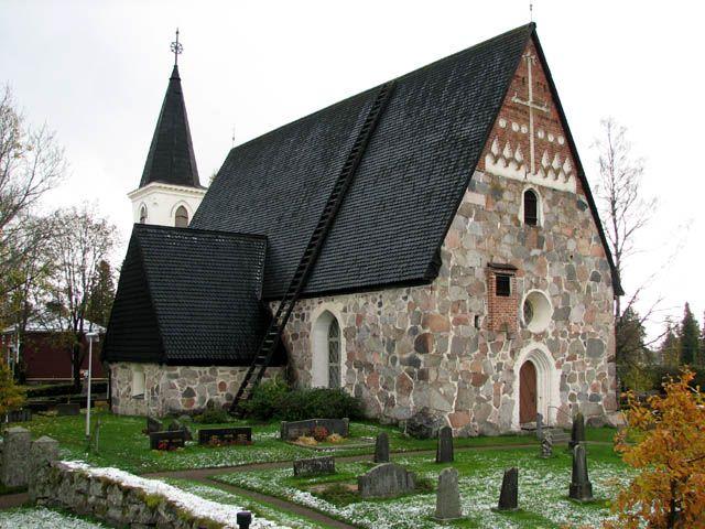 Hämeenlinna - Vanajan kirkko, Finland