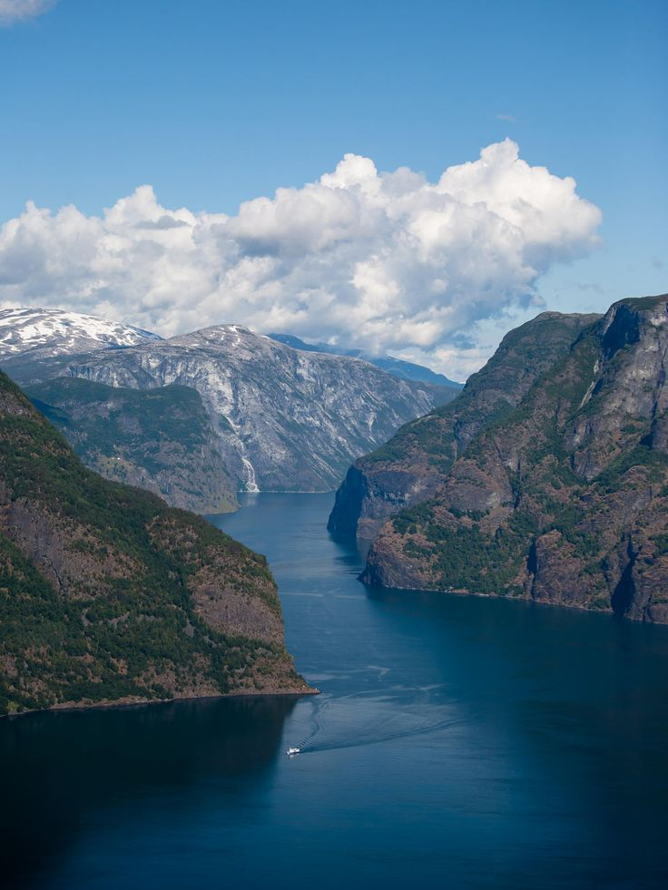 Aurlandfjord ,Stegastein- viewpoint , Norway by Aleksei Golubovich on 500px