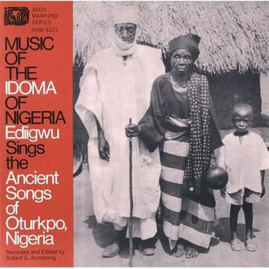Smithsonian Folkways FW-04221-CCD Music of the Idoma of