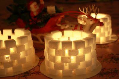 Det allra mysigaste med julen är lätt alla ljus. Ett otroligt enkelt med ack så fint julpyssel är sockerbitslyktan . Bästa grejen som fa...