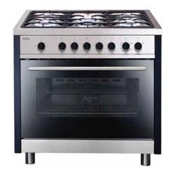 matrix mr311ss single oven 90cm gas range cooker stainless steel
