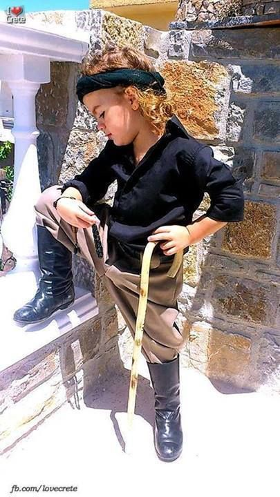 TASSIS APOSTOLOS - Google+ - Κρητίκαρος.. cute little Greek child.