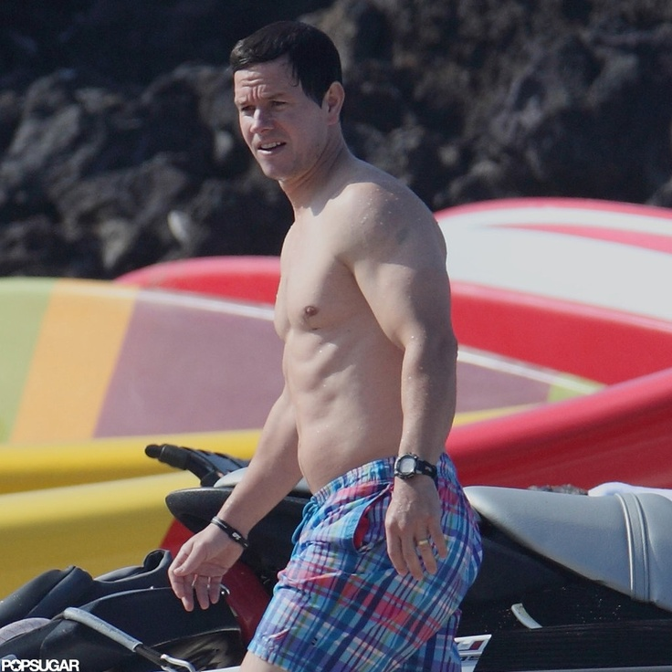 Young mark wahlberg topless italian
