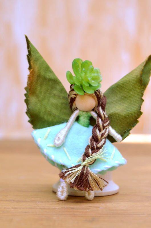 Waldorf Fairy Doll waldorf fairies miniature fairy doll