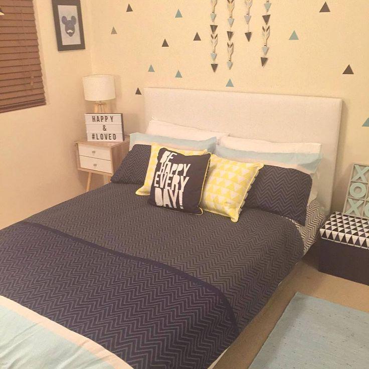 12 Contoh Gambar warna  cat  kamar  tidur cowok keren  dari