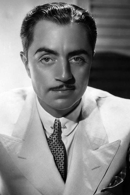 William Powell 1935 William Powell (actor) - Died March 5, 1984. Born July 29, 1892. The Thin Man, Life with Father, Mr. Roberts, survived nearly 50 years after experimental cancer surgery in the '30s, married to Diana Lewis for over 40 years. American actor who typically played highly self-confident characters, with a sophisticated sense of humor and wit. (edit from x)