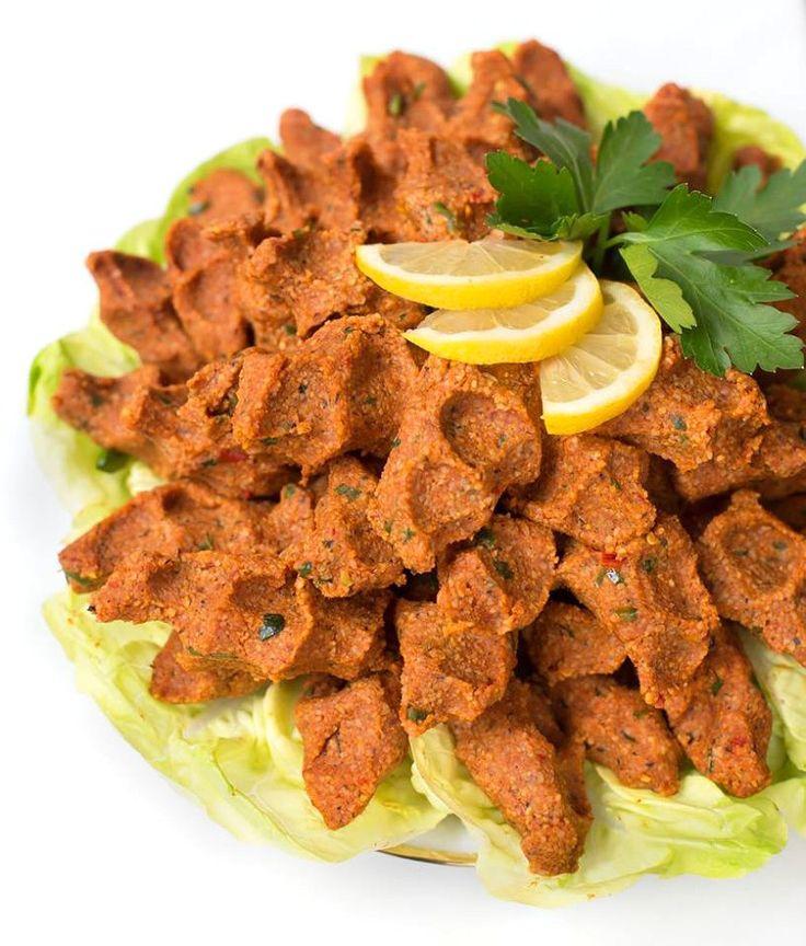 Vegane Cig Köfte - türkisches Rezept für rohe Frikadellen