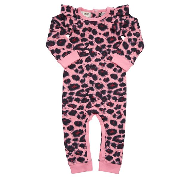 Rock Your Baby - Leopard Playsuit