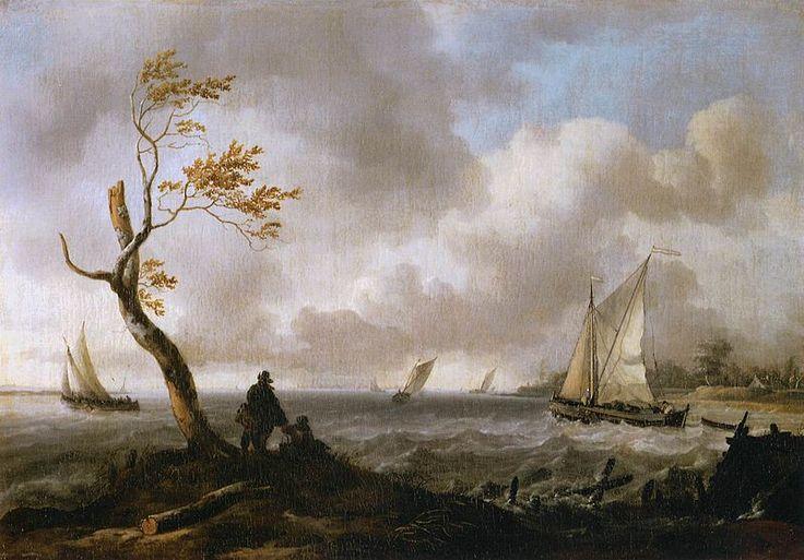 17 Best Images About Art Dutch Golden Age Painting 1615: 116 Best Ludolf Backhuysen Images On Pinterest