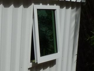 Optional window, available for Garden Sheds only