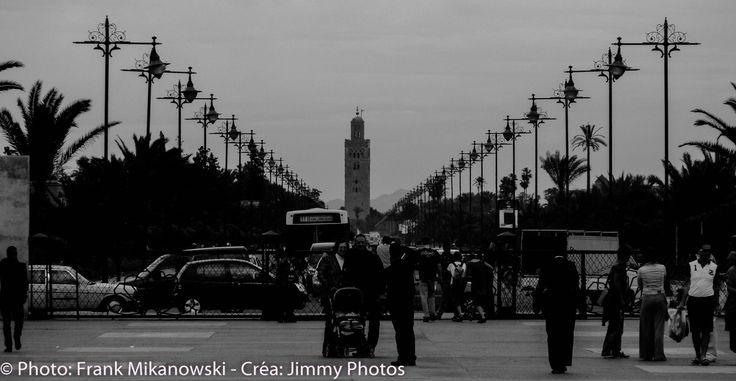 Marrakech: 2 Photos + Clip – Daniel Balavoine:L'aziza