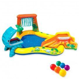 Piscina dinosauro play center Intex 57444