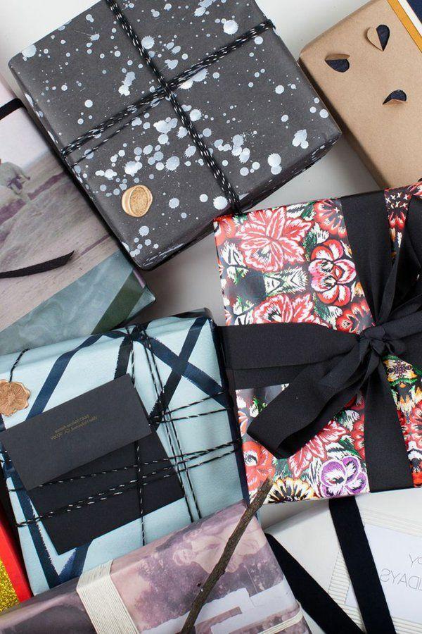Idée créative pour l'emballage des cadeaux