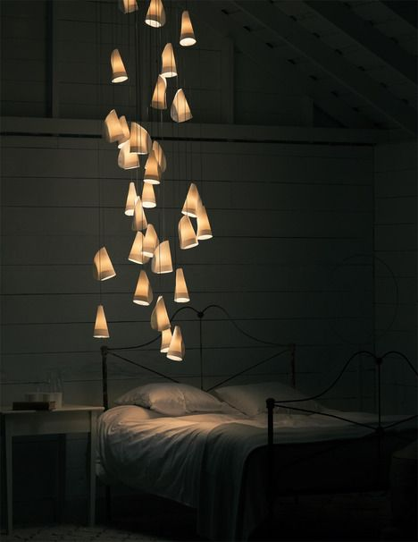 21 Series Lighting by Omar Abel for Bocci | soft-light porcelain and frosted blown glass diffusers, designed for clusters