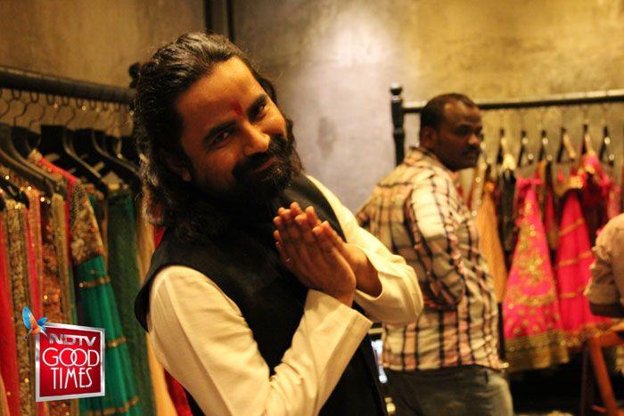 Sabyasachi - our expert. (Photo credit: Ambika Anand)