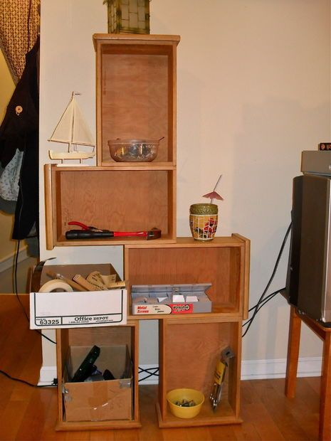 Picture of How to Build a Bookshelf from Drawers