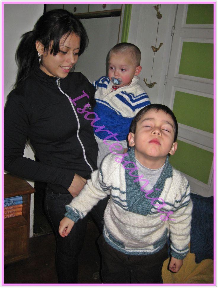 Sweater para mis nietos