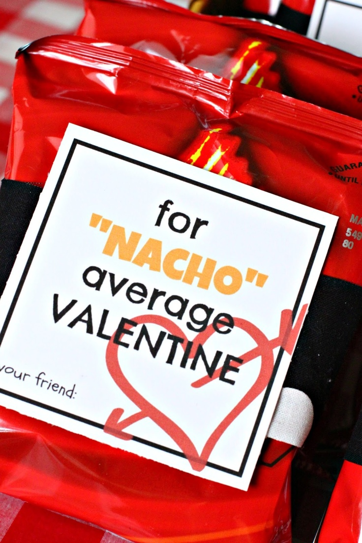 """This could also be a cute way to thank """"'Nacho' Average"""" Volunteer"""