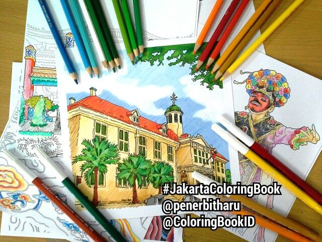 Will Be Release Soon JakartaColoringBook From Penerbitharu ColoringBookID Kotatua Betawi Jakarta Jakartaindonesia Indonesia Jkt Ilovejakarta