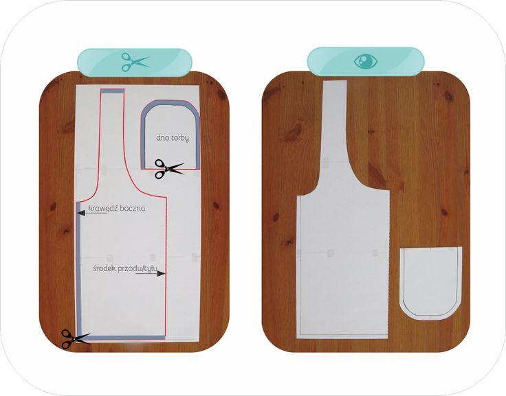 Torba na zakupy z  bezpłatną formą! DIY- tote bag with free pattern!
