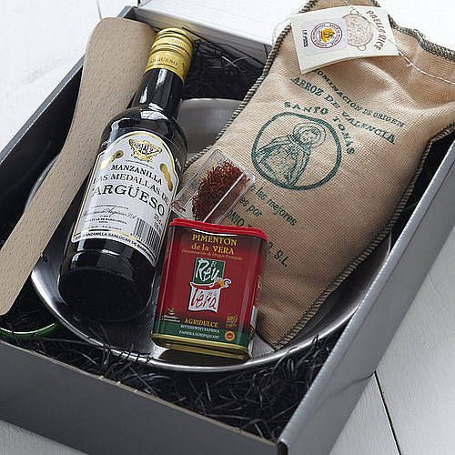 the perfect paella kit by whisk hampers | notonthehighstreet.com