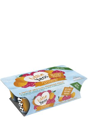Little Yeos – Raspberry & Apricot Fromage Frais