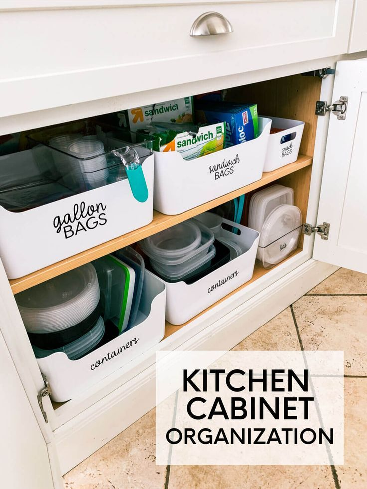 How To Organize Kitchen Cabinets Cleaning Organizing