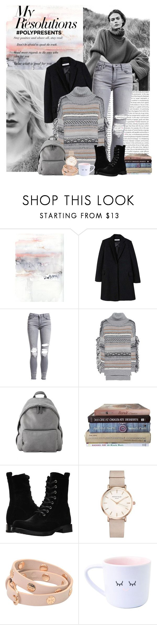 """""""#PolyPresents: New Year's Resolutions"""" by himbeerkind ❤ liked on Polyvore featuring Oris, MANGO, AMIRI, Lala Berlin, STELLA McCARTNEY, Frye, ROSEFIELD, Tory Burch, contestentry and polyPresents"""