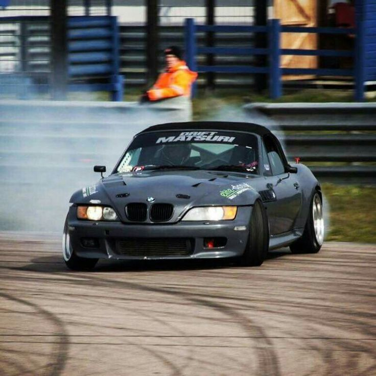 BMW Z3 grey drift king