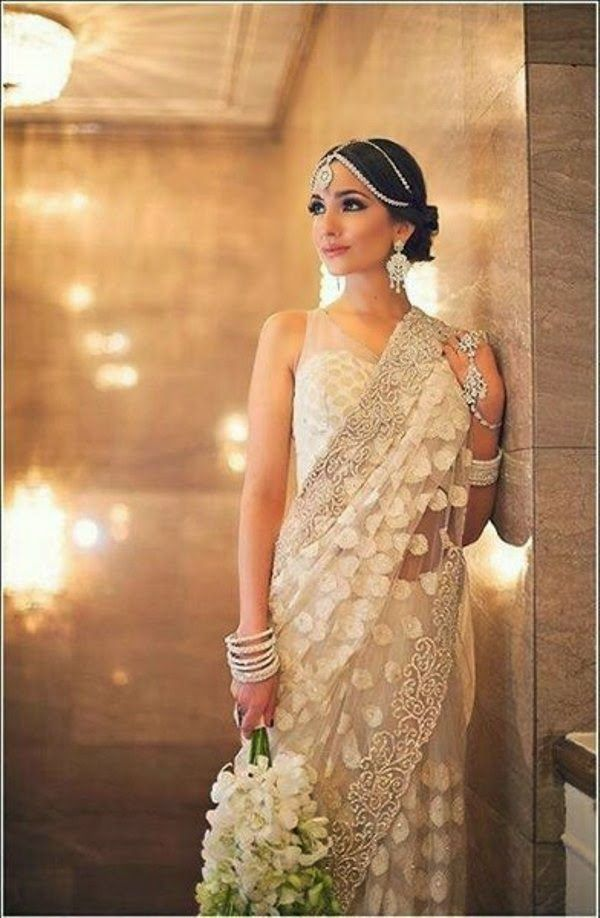 Indian Bridal Wear Sarees Designs 2014 | Indian Sarees Collection 2014 for Women