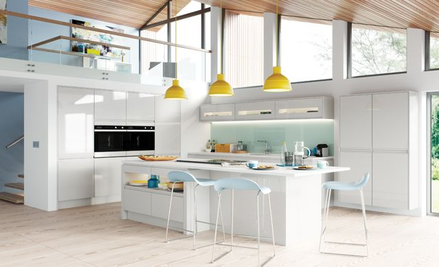 Kitchen Stori - strada gloss, light grey
