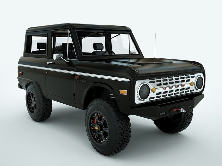 Icon Bronco Autos Pinterest Ford Bronco Ford And