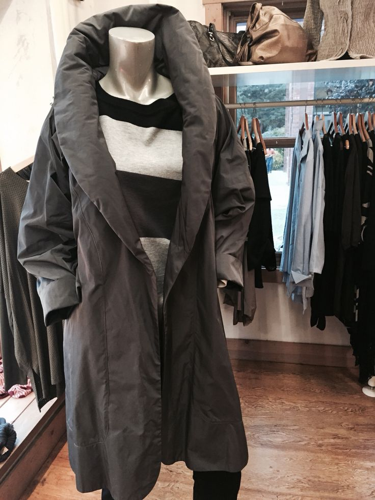 Faboo  Nylon lightweight swing coat by Planet