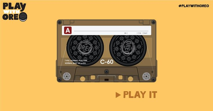 Don't fast forward it. Don't rewind it. Just #PlayIt #PlaywithOreo