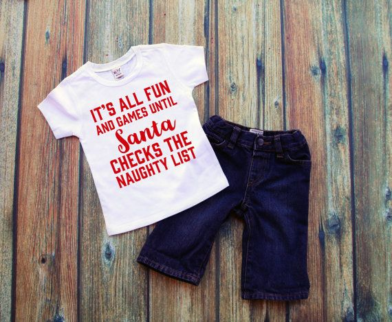 Toddler Christmas Shirt - Christmas T Shirts - Toddler boy Christmas Outfits…