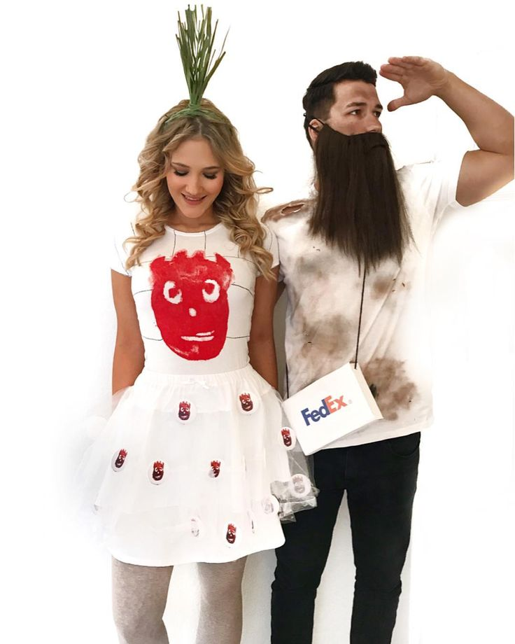 50 Adorably Cheesy Couples Halloween Costumes