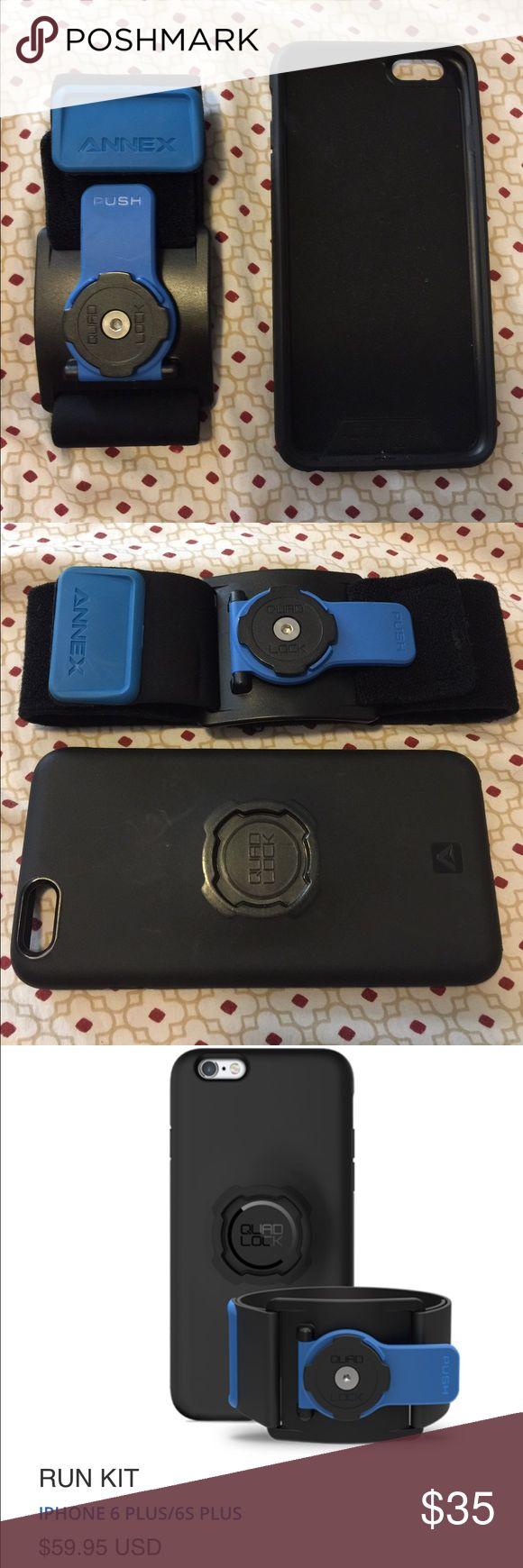 QUAD LOCK & armband for iPhone 6/6s plus QUAD LOCK & armband for iPhone 6/6s plus Quad Lock Accessories Phone Cases