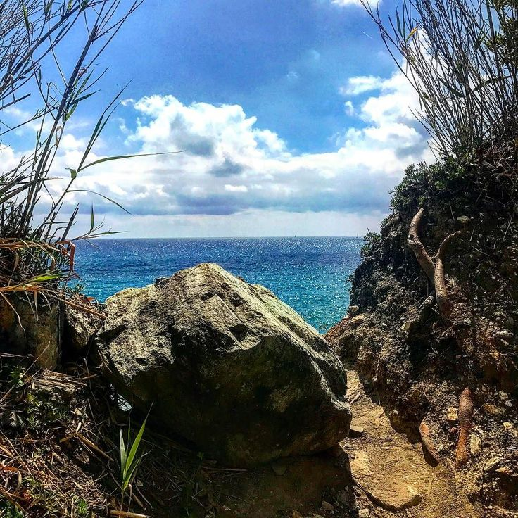 #liguria #walking #april #sea #liguriansea #lazy #sky