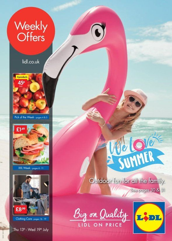 Lidl Offers Leaflet 13th-19th July 2017: Outdoor Fun, XXL Week, Clothing Care and more special offers in this Lidl Catalogue.
