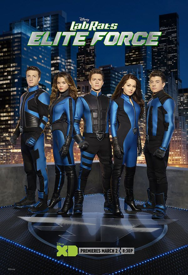 And the great news just keeps coming!!! Disney XD has released information on their upcoming show Lab Rats: Elite Force! The spin-off of their popular comed