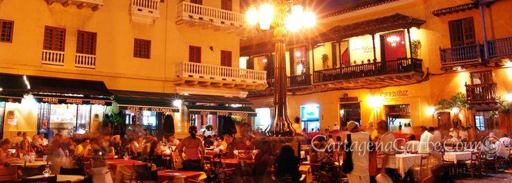 Nightlife in Plaza de Santo Domingo