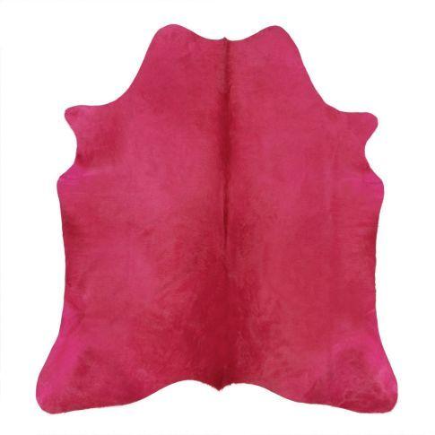 Gibt es sie doch, die lila Kühe? Nein, aber die pinkfarbenen! Hier ein hochwertiges Kuhfell, das sich nicht übersehen lässt.
