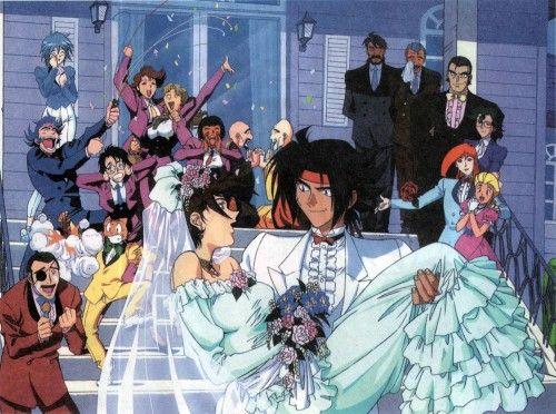 MOBILESUIT GUNDAM, Mobile Fighter G Gundam, Domon Kasshu, Mikamura Ren, Wedding