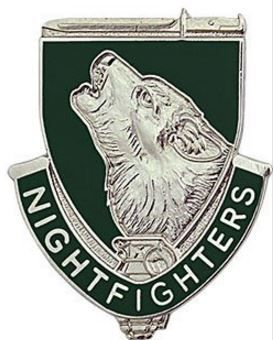 104th Training Division Unit Crest (Night Fighters)