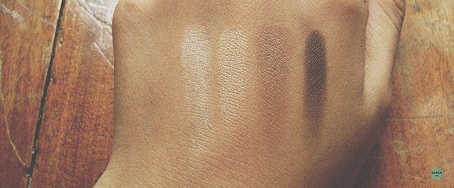Gosh Cosmetics Smokey Eye Palette Swatched 02 Brown