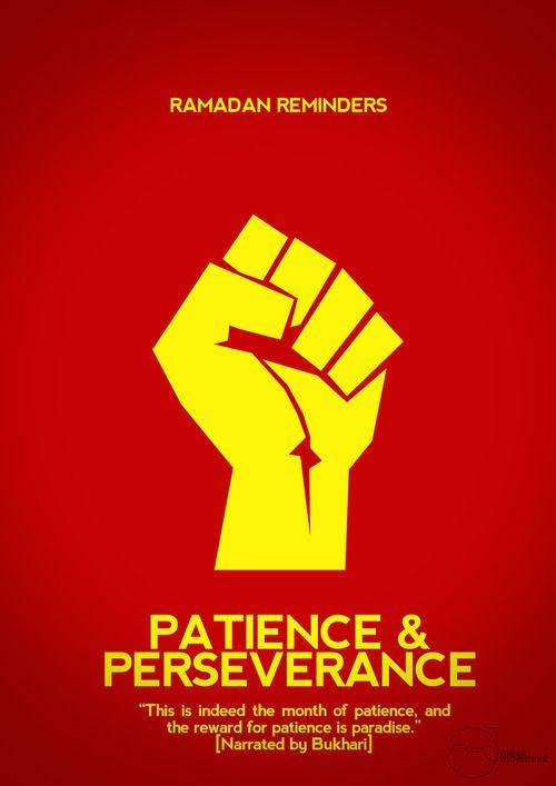 Be Patience & Preservence