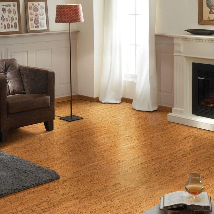 Heritage Mill Bombay Plank 13/32 In. Thick X 11 5/8 In. Wide X 36 In.  Length Cork Flooring (22.99 Sq. Ft. / Case)