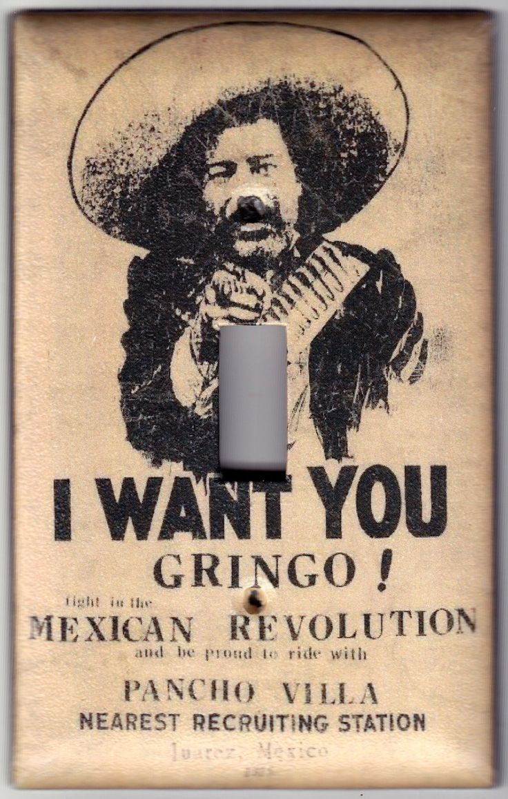 best images about jistori oni mask the man vintage i want you gringo pancho villa mexican revolution poster switchplate cover single regular size 615